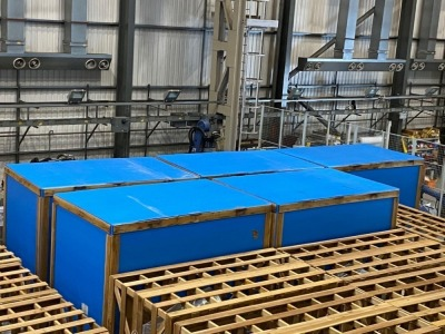 Yaskawa Robot purchased new in 2019 All Robots come with YRC1000 Controllers and Manipulators (all unused and crated)