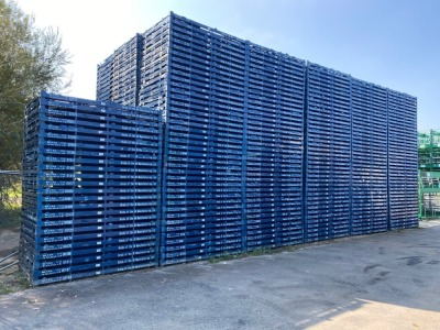 Over 100,000 various steel packaging stillages